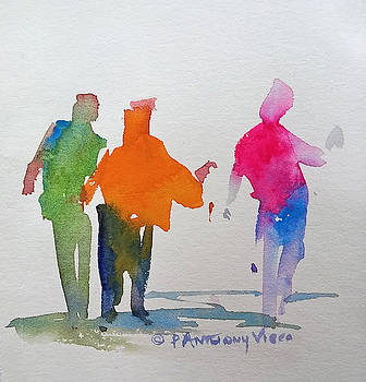 Figures in Motion  by P Anthony Visco