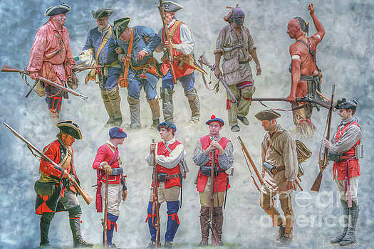 Figures of the French and Indian War by Randy Steele