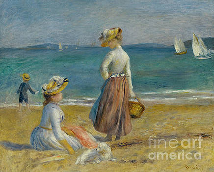 Pierre Auguste Renoir - Figures on the Beach, 1890