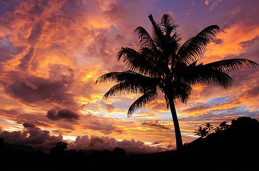 Fiji Sunrise by Greg Vaughn