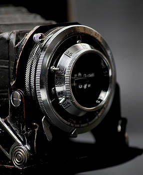 Film camera in black by Kitty Ellis
