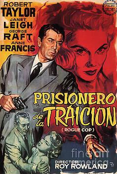 R Muirhead Art - Film Noir Poster  Rogue Cop