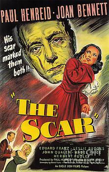 R Muirhead Art - Film Noir Poster  The Scar