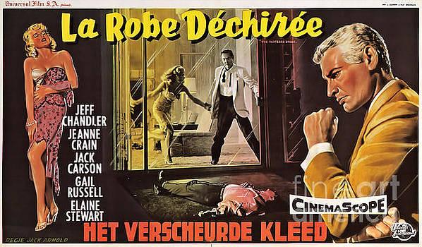 R Muirhead Art - Film Noir Poster  The Tattered Dress
