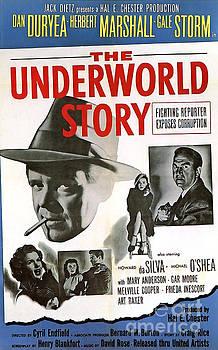 R Muirhead Art - Film Noir Poster   The Underworld Story