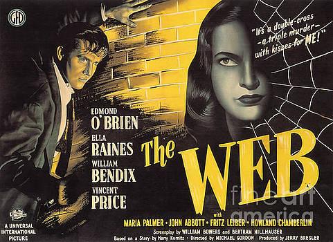 R Muirhead Art - Film Noir Poster   The Web