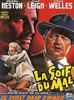 R Muirhead Art - Film Noir Poster  Touch of Evil