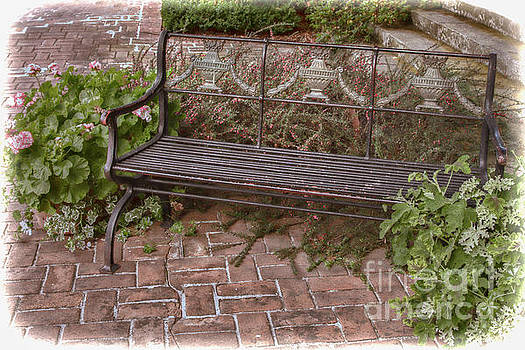 Filoli Bench by Marilyn Cornwell