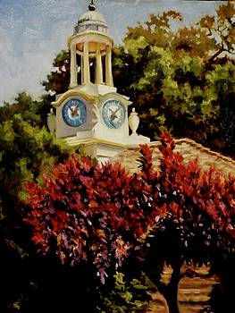 Filoli Clock Tower by Char Wood