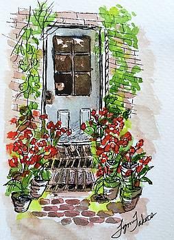 Filoli Doorstep by Lynn Takacs