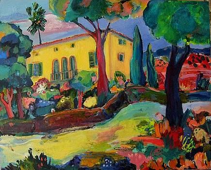 Finca near Bunyola by maria Antonia cerda