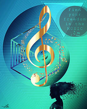 Find Your Freedom in the Music by Linda Ouellette