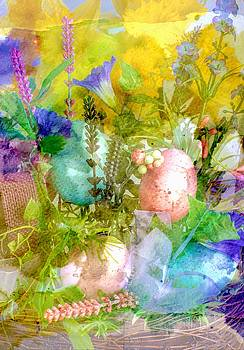 Fine Art Spring Arrangement by Michael Moriarty