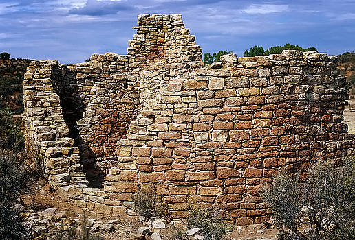 Fine Rounded Stone layup at Hovenweep National Monument by John Brink