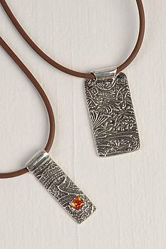 Fine Silver Pendants by Deb Goatcher