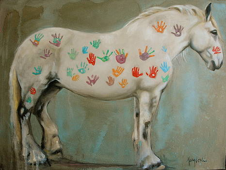 Finger Paint by Mary Leslie