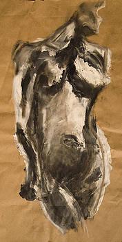 Finger Painting by Allison Brandi