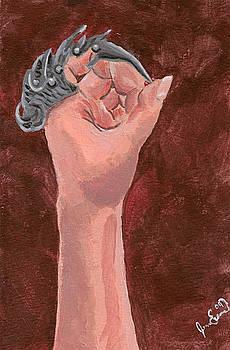 Finger Painting by Jennifer Evans