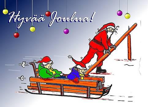Alan Hogan - Finnish Christmas Greeting card