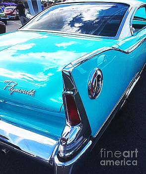 Fins and Chrome 1961 Plymouth by John Castell