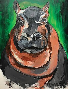 Fiona the Baby Hippo by Brandon Nicholas