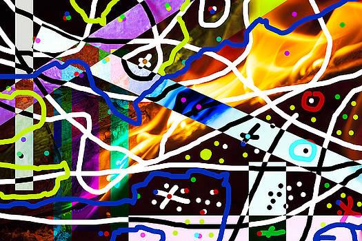 Fire Abstract 2 by Matjaz Preseren