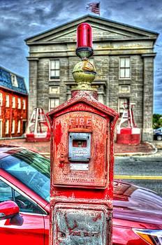 Matt Swinden - Fire Alarm Box 375 in Painterly