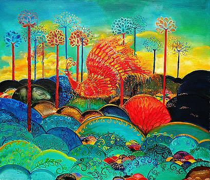 Fire Bird - Phoenix by Radosveta Zhelyazkova