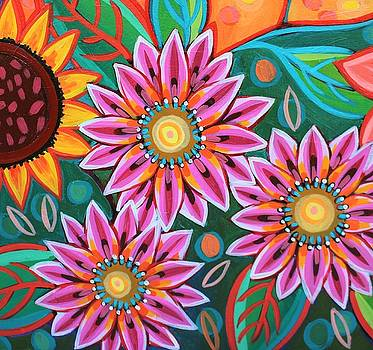 Fire Blossoms by Peggy Davis