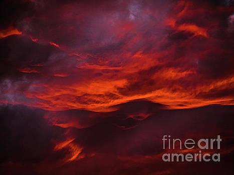 JORG BECKER - Fire Clouds
