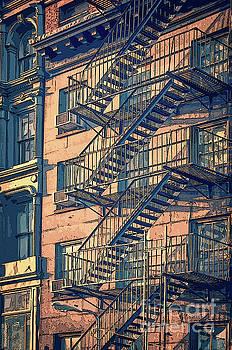 Fire escape by Delphimages Photo Creations