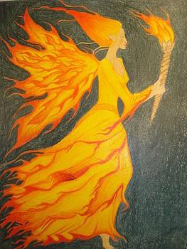 Fire Fairy by Tonya Hoffe