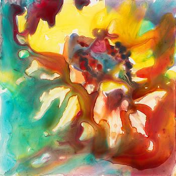 Fire Flower by Yevgenia Watts