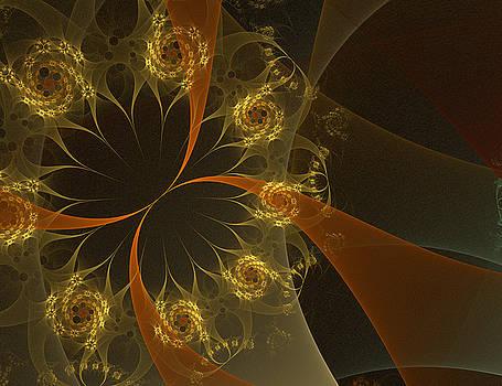 Fire Flowers by Elena Ivanova IvEA