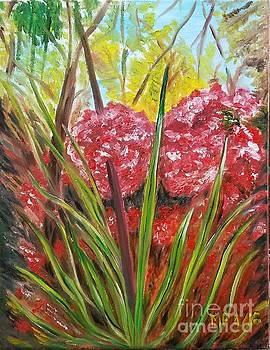 Fire Flowers by Madeleine Prochazka
