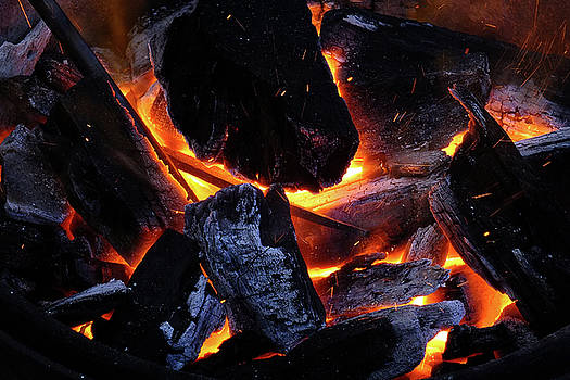 Fire In The Forge by Bill Morgenstern
