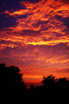 Fire In The Sky by Koushik Chatterjee
