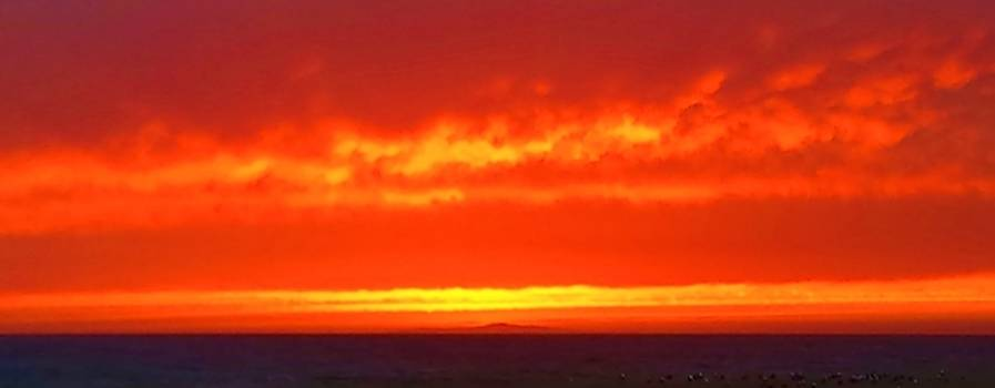 Tommi Trudeau - Fire in the Sky Malibu Sunset