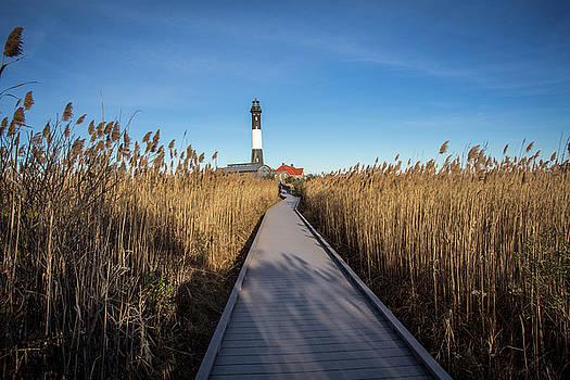 Fire Island Lighthouse by Roderick Breem