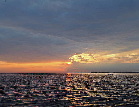 Fire Island Sunset I I I by Newwwman