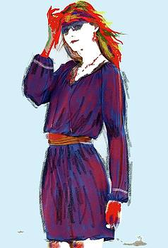 Fire Lady by Al Pascucci