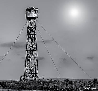 Fire Lookout Tower in Northern Maine  by Ken Morris