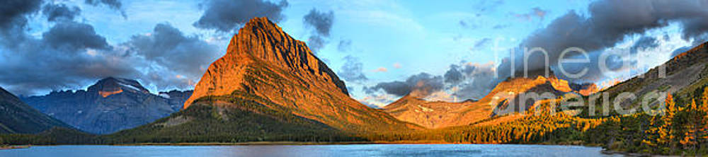 Adam Jewell - Fire On The Swiftcurrent Peaks