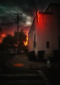 FIre Sky and Neon Faith by Philip Hennen
