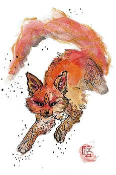 Fire Spirit by  AmaSepia Gittens-Jones' Fox And Fantasy Designs