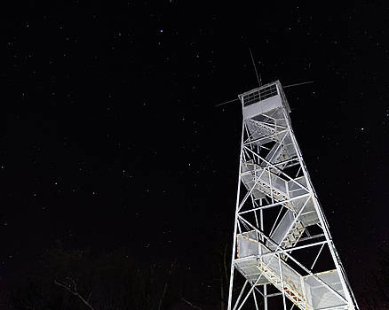 Fire Tower  by Joseph Caban