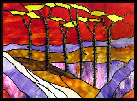 Fire Trees by Howard Mendelson