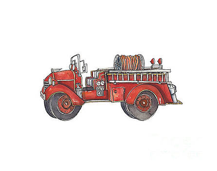 Fire Truck by Annie Laurie