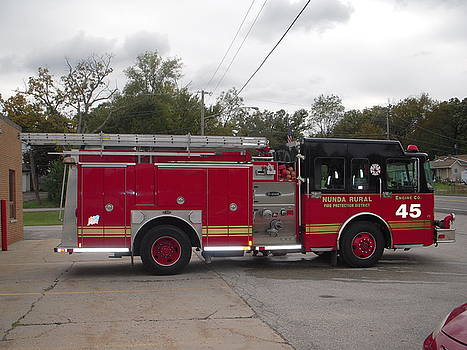 Fire Truck by Deborah Finley