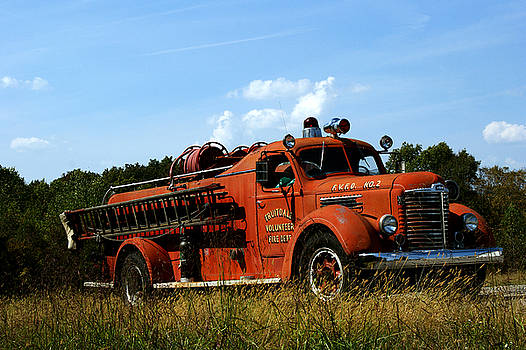 Fire Truck by Off The Beaten Path Photography - Andrew Alexander